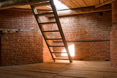 Treppen zum Paradies Stockfoto