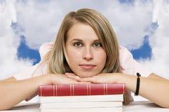 Treppen zum Wissen Stockfoto