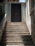Treppen zum Wohnsitz des Obersten Patriarchen Stockfoto