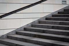 Treppenbeton Stockbild