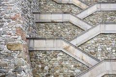 treppenhäuser Stockfoto