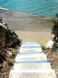 Treppenhäuser achitecture Detail im Hotel, das Griechenland errichtet Stockbilder