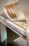 Treppenhäuser in einem modernen Konzertsaal in Lettland Lizenzfreies Stockbild