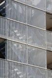 Treppenhäuser hinter Gitter Lizenzfreie Stockfotos