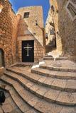 Treppenhäuser von Jaffa Lizenzfreies Stockbild