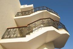 Treppenhaus auf außerhalb Gebäude Lizenzfreie Stockbilder