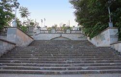 Treppenhaus auf dem Mitridat Berg in Kerch Lizenzfreie Stockbilder