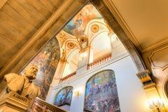 Treppenhaus Capitole de Toulouse s Lizenzfreie Stockfotografie