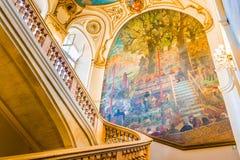 Treppenhaus Capitole de Toulouse s Lizenzfreie Stockfotos