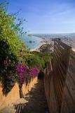 Treppenhaus in Costa brava Lizenzfreie Stockbilder