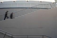 Treppenhaus in der großen zentralen Halle im Usina-del Arte Cultural Center, La Boca, Buenos Aires, Argentinien Italienischer ang stockbild