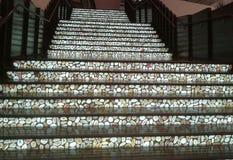 Treppenhaus des Steins Lizenzfreie Stockbilder