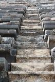 Treppenhaus in einem Amphitheater Stockbild