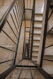 Treppenhaus in einem Gebäude Lizenzfreie Stockfotografie