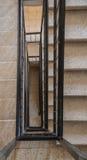 Treppenhaus in einem Gebäude Lizenzfreie Stockbilder