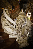 Treppenhaus am Erawan Museum Stockbilder