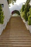 Treppenhaus. Im Freien. Monaco. Stockbilder