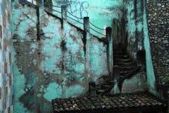 Treppenhaus im Guatemala Lizenzfreie Stockfotos