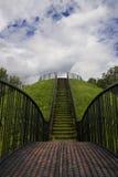 Treppenhaus im Himmel lizenzfreie stockbilder