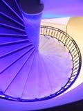 Treppenhaus im Hotel Stockfotos