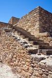 Treppenhaus am Knossos Palast lizenzfreie stockfotos