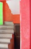 Treppenhaus in Mexiko   stockfotos
