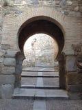 Treppenhaus nach Toledo Stockbilder