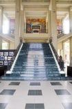 Treppenhaus nationales Palast-Kultur-Museum Mana lizenzfreies stockbild