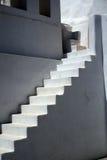 Treppenhaus Santorini Lizenzfreie Stockfotos