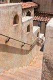 Treppenhaus, Tlaquepaque in Sedona, Arizona Stockbilder