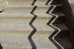 Treppenhaus und Schatten Lizenzfreies Stockbild