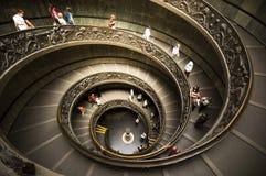 Treppenhaus vom Museum Lizenzfreie Stockfotografie