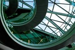 Treppenhaus von oben Lizenzfreie Stockbilder