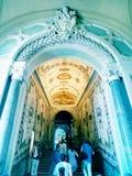 Treppenhaus zu Sistine-Kapelle Stockfotos