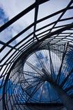 Treppenhaus zum Hafen lizenzfreie stockfotos
