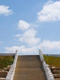 Treppenhaus zum Himmel. Stockfotografie