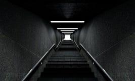 Treppenhaus zum Himmel Stockbild