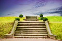 Treppenhaus zum Himmel stockfoto