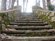 Treppenhaus zum Himmel stockfotos