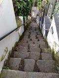 Treppenhaus zum Meer stockbild