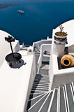 Treppenhaus zum Meer Lizenzfreies Stockfoto