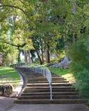 Treppenhaus zum Paradies Stockbilder