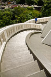Treppenhaus, zum von Buddha im Tempel zu respektieren Stockbild