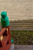 Treppenhaus zum Zen, Byodo-im Tempel stockbild