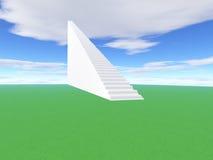 Treppenhaus, zum zum Erfolg zu steigen Lizenzfreie Stockfotografie