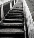 Treppenhaus zur Rettung Stockfotografie