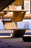 Treppenhausschacht Stockbild