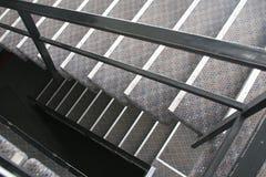 Treppenhausschacht stockfoto