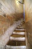 Treppenhausschacht innerhalb des Turms lizenzfreies stockfoto