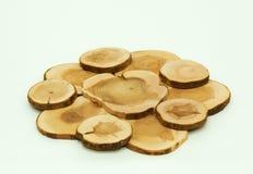 Treppiedi di legno immagini stock